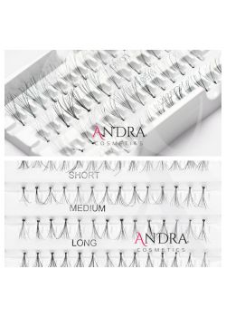 ANDRA COSMETICS GENE FALSE INDIVIDUALE ,,ONE BY ONE,, CU NOD